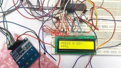 تصویر از راه اندازی کیبورد لمسی با AVR و اتمل استودیو