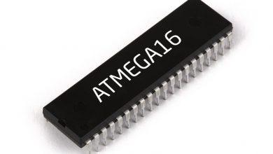 تصویر از معرفی میکروکنترلر ATmega16 (دیتاشیت مگا 16)