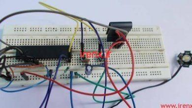 تصویر از راه اندازی PWM دیمر در میکروکنترلر AVR با اتمل استودیو