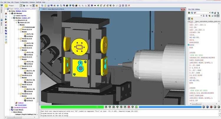 CGTech VERICUT دانلود نرم افزار شبیه سازی CNC آیرنکس ایرنکس سی ان سی