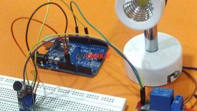 تصویر از پروژه آردوینو سوت زدن برای روشن کردن لامپ یا هرچیزی