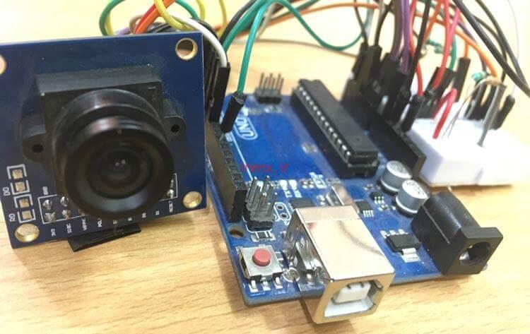 چگونه با آردوینو دوربین بسازیم