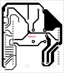 طرح PCB پروژه  آموزش باز کردن در با اثر انگشت آردوینو