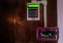 Photo of پروژه قفل امنیتی در با کیبورد عددی آردوینو با قفل دست ساز