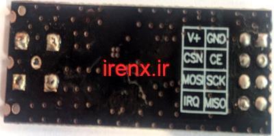 نحوه اتصال ماژول رادیویی NRF24L01a