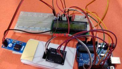 تصویر از پروژه دستگاه شمارش پول با آردوینو