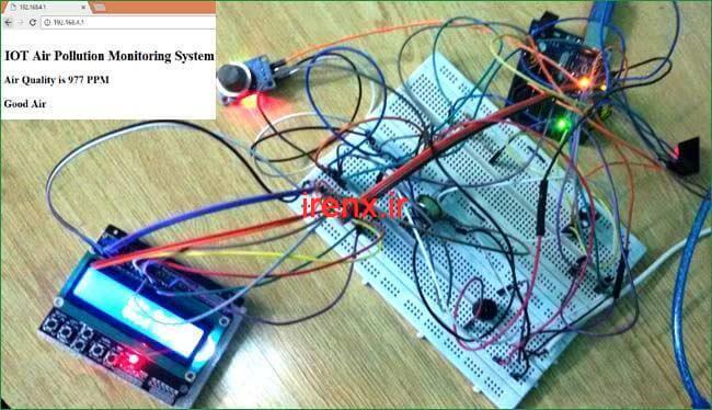 پروژه اینترنت اشیا IoT
