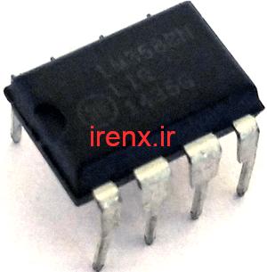 توضیحات Op-amp LM358