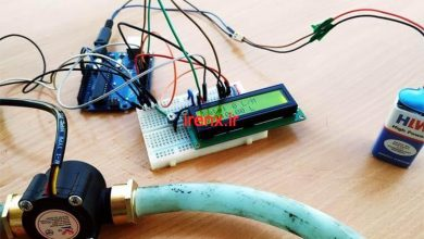 تصویر از پروژه اندازه گیری جریان آب با آردوینو و سنسور YFS201