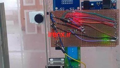 تصویر از پروژه قفل درب با قفل برقی سلونوئید با RFID و آردوینو