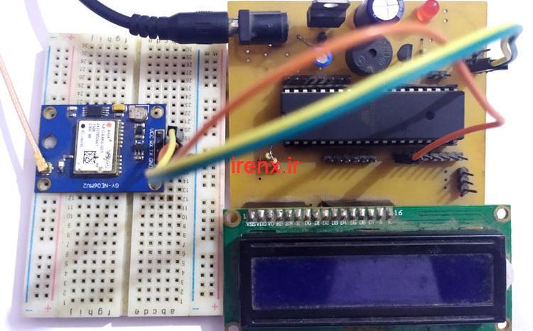 پروژه AVR آموزش کامل ساخت مکان یاب GPS با سنسور Neo M6 و اتمل استودیو