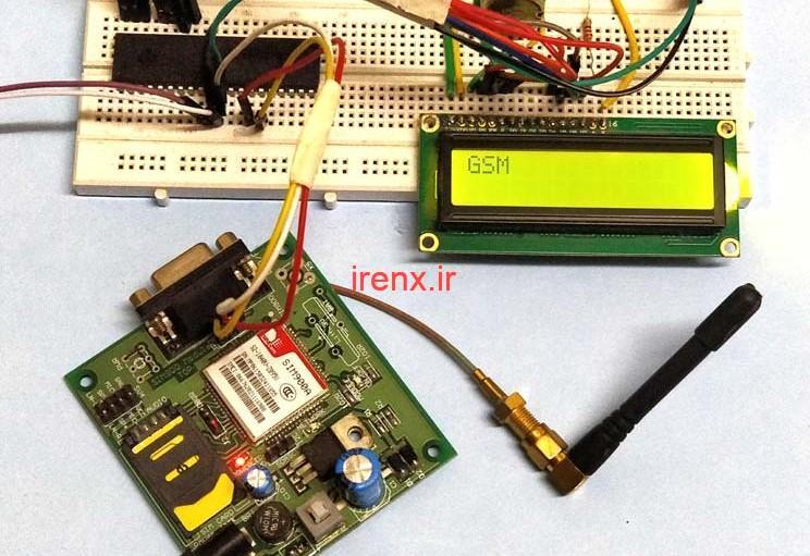 پروژه دریافت و ارسال اس ام اس با ماژول GSM SIM 900