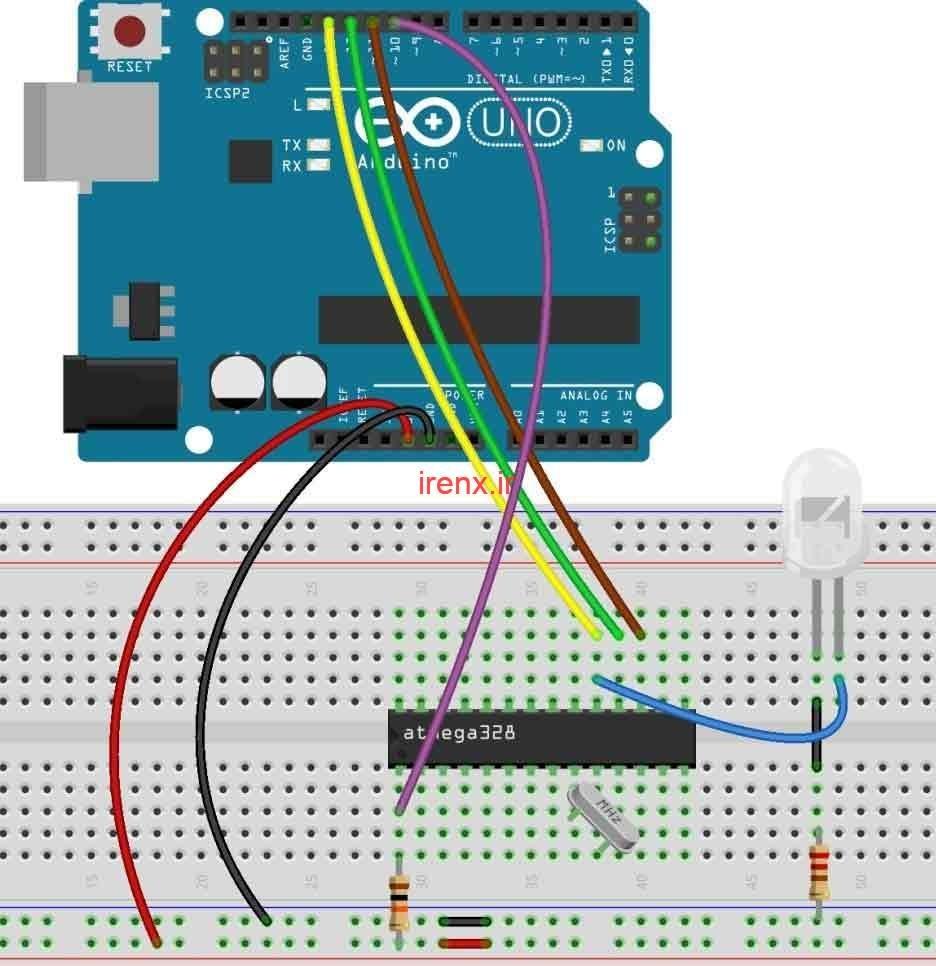 آموزش طراحی برد Arduino Uno دست ساز