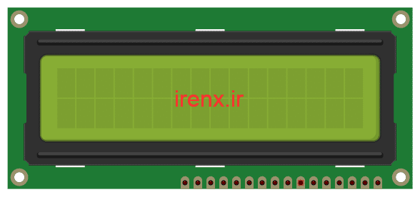 توابع برنامه نویسی ال سی دی کاراکتری در کدویژن