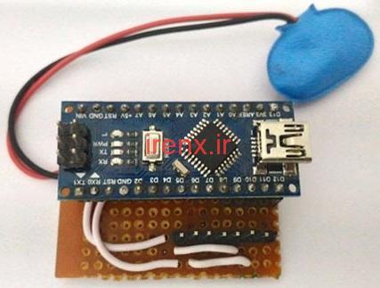 طراحی دست کش واقعیت مجازی با Arduino