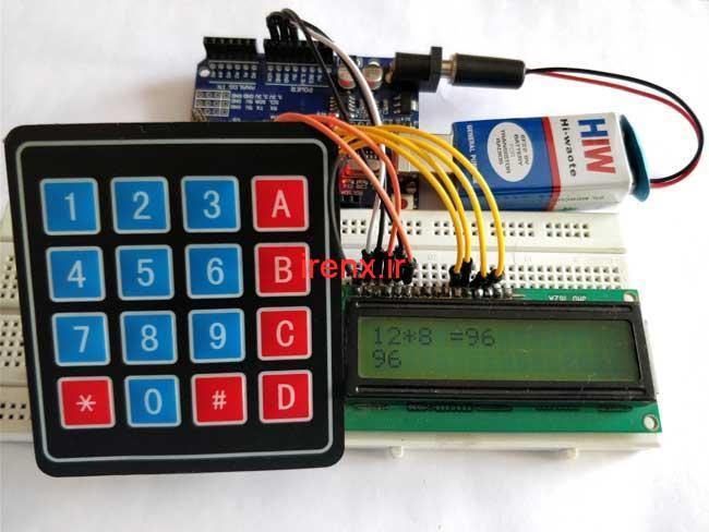 آموزش ساخت ماشین حساب با Arduino