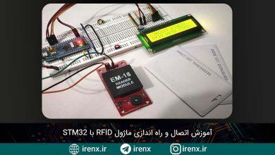 تصویر از آموزش اتصال و راه اندازی ماژول RFID با STM32