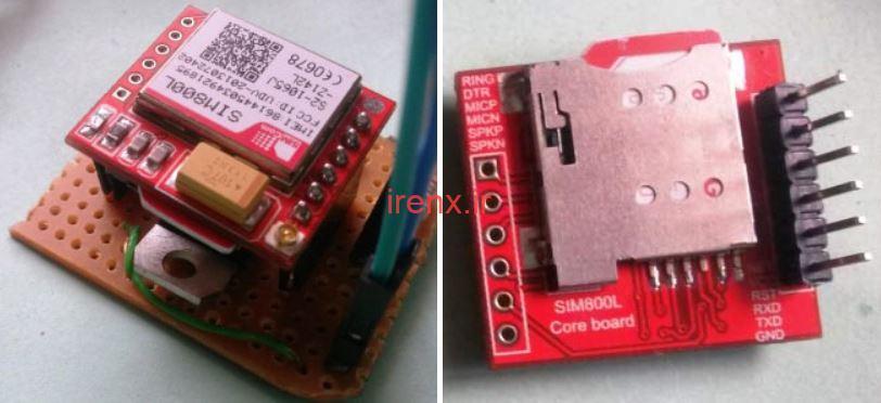 ماژول GSM Sim800 برای ارسال SMS