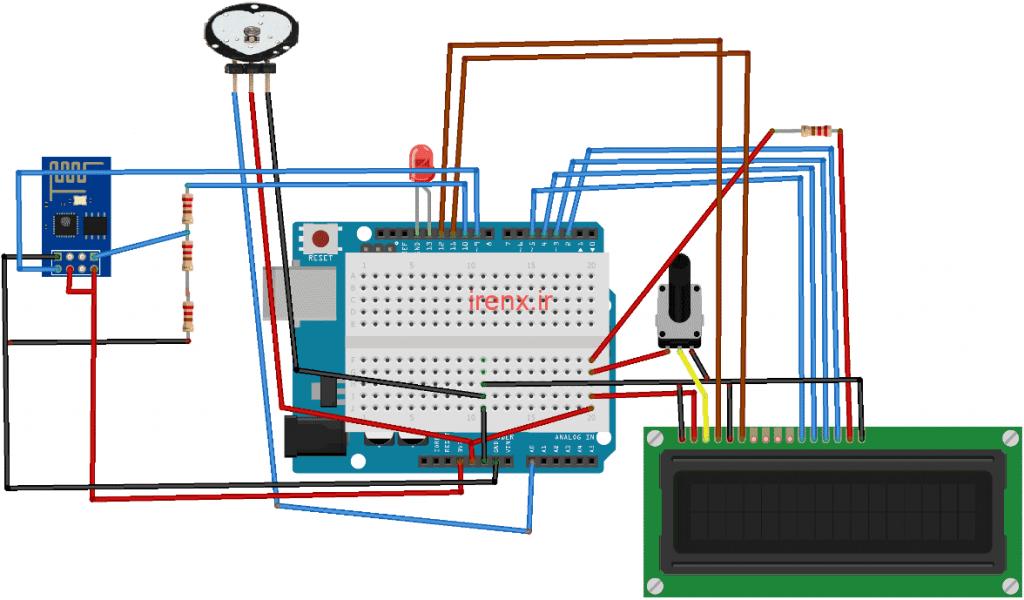 پروژه مشاهده ضربان قلب در اینترنت با آردوینو IoT