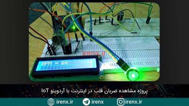 تصویر از پروژه مشاهده ضربان قلب در اینترنت با آردوینو IoT