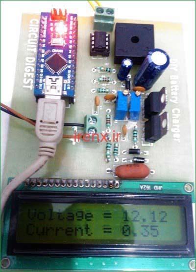 برد PCB شارژر باتری 12 ولت