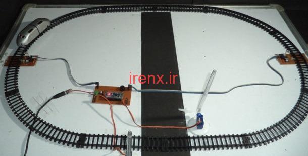 بستن خودکار دروازه تقاطع قطار با جاده آردوینو