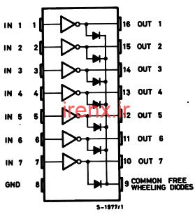 دارلینگتون ترانزیستور آی سی (Ic)