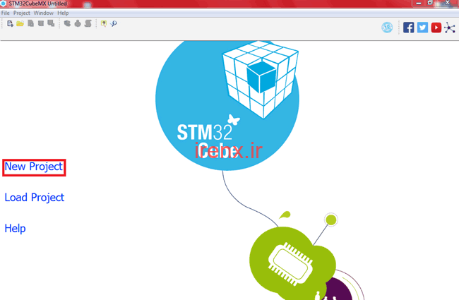 ایجاد برنامه در STM32 با استفاده از Keil uVision و ST-Link