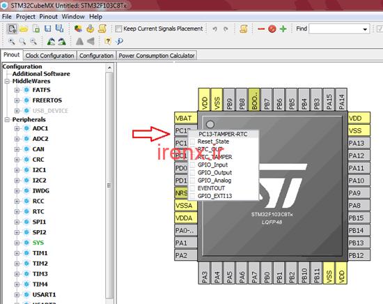 آموزش نرم افزار STM32Cube MX