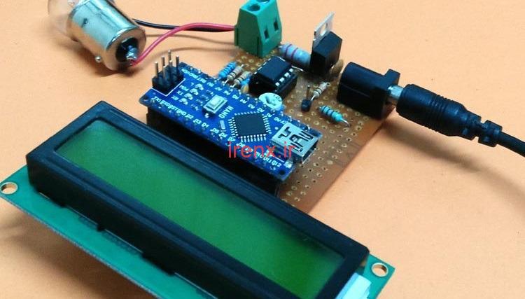 اندازه گیری ولتاژ، جریان و قدرت با آردوینو