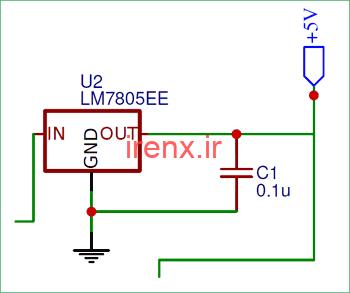 استفاده از تنظیم کننده ولتاژ با Arduino