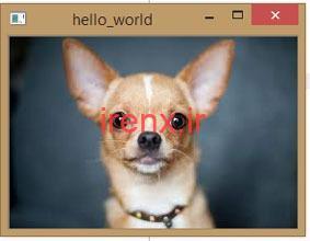 باز کردن و ذخیره ی عکس ها در OpenCV