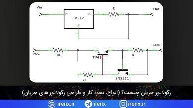 تصویر از رگولاتور جریان چیست؟ (انواع، نحوه کار و طراحی رگولاتور های جریان)