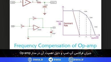 تصویر از جبران فرکانس آپ امپ و دلیل اهمیت آن در مدار Op-amp