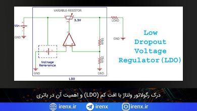 تصویر از درک رگولاتور ولتاژ با افت کم (LDO) و اهمیت آن در باتری