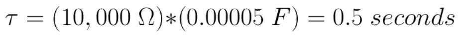فرمول محاسبه ثابت زمانی در خازن ها