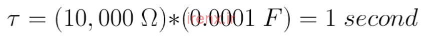 محاسبه ثابت زمانی خازن موازی و سری