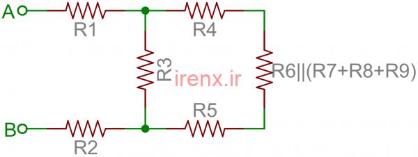 حل معادلات شبکه مقاومت