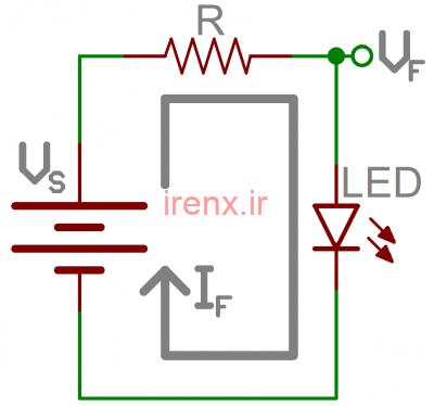 محدود کردن جریان LED