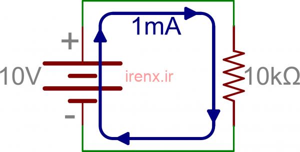 محاسبه مقاومت معادل در مدار سری