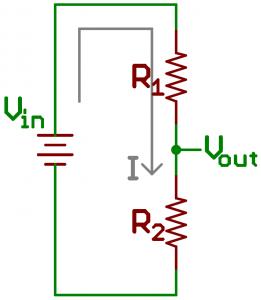 آموزش استفاده از معادله تقسیم ولتاژ