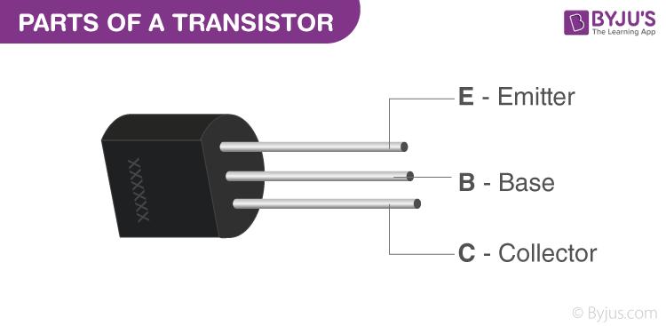 اجزای داخلی ترانزیستور