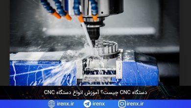 تصویر از دستگاه CNC چیست؟ برنامه نویسی انواع دستگاه CNC